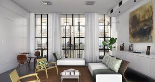 Curtains Inside Window Frame Modern Art Black Framed Floor To Ceiling Windows Modern Organic