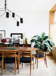 Mid Century Dining Room Chairs by Interior Design By Gachot Studios The New York Times Home