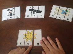 3 letter words puzzles worksheets activities and math