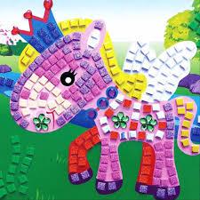 popular mosaic kids craft buy cheap mosaic kids craft lots from