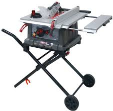 Table Saw Stand With Wheels Craftsman 10
