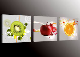 Home Wall Art Decor Amazon Com Formarkor Art Kx1656 Fruit Picture Canvas Wall Art