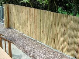 Bamboo Patio Cover Bamboo Fences Landscaping Network