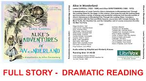 alice wonderland dramatic reading audio book