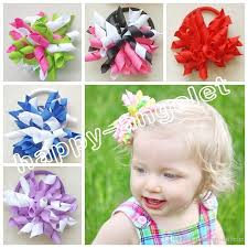 korker bows baby 2 5 korker hair bows m2m gymboree style curly