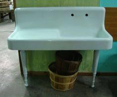Old Kitchen Sink With Drainboard by Antique Vintage 1920 Kohler Cast Iron Kitchen Farm Sink With