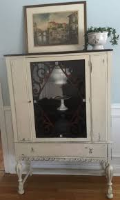Shabby Chic Corner Cabinet by Curio Cabinet Gun Cabinets Curio Painted Cabinet Hand Diy Corner