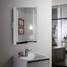 bathroom cabinets modern led with bathroom mirrors illuminated