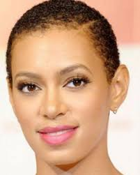 balding black women natural hair syyle solange short hair hair hair hair pinterest black
