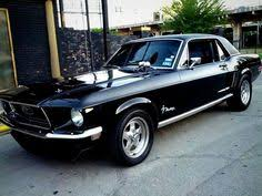 68 mustang black vintage style 1968 ford mustang gt390 fastback bullitt s