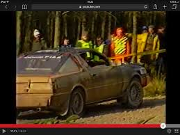 mitsubishi starion rally car the zero car on twitter