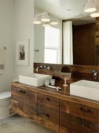 elegant rustic bathroom vanities modern bathroom vessel sink