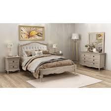 european king bed fabian king european white ash upholstered bed low foot end