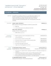 Vet Tech Resume Examples by New Grad Rn Resume
