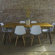 danish modern dining table and chairs with design hd gallery 5875