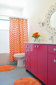 pink and brown bathroom ideas citrus orange pink grey bathroom decorating ideas orange and grey