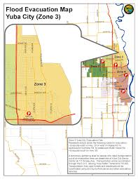 Fire Evacuation Plan For Care Homes by Zone 3 Flood Evacuation Map City Of Yuba City