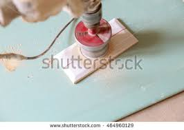 Drilling Into Bathroom Tiles Stylish Trendy White Ceramic Tile Chamfer Stock Photo 461008357
