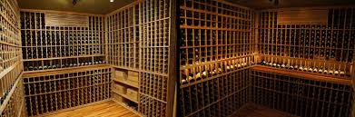 customized cellar construction project for a wine geek in california