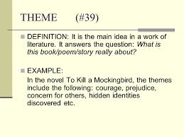 theme question definition tone definition it is the attitude a writer takes toward a subject