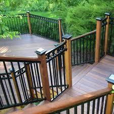 railing image gallery fortress fe26 decksdirect