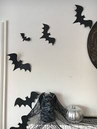 luxe halloween decor for less free bat printables treehouse threads
