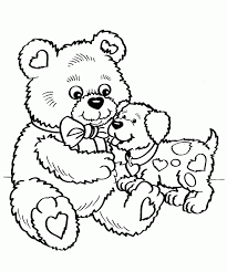 coloring page valentine aecost net aecost net