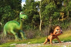 review the good dinosaur sets a frustratingly familiar story in a