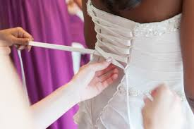 Diy Wedding Dress Video How To Lace Up Corset Back Wedding Dress