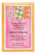 birthday text invitation messages invitation wording sles by invitationconsultants
