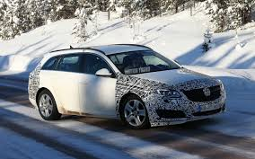 opel winter spied buick regal u0027s station wagon cousin caught winter weather