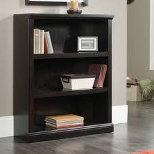 3 Shelf Bookcase With Doors 3 Shelf Bookcases You Ll Wayfair