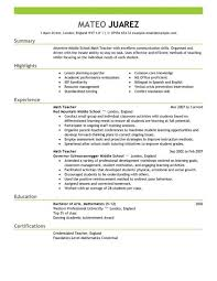 Kindergarten Teacher Resume Sample by Sample Resume For Bilingual Teacher Templates