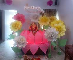 How To Make Birthday Decorations At Home 157 Best Ganpati Decoration Images On Pinterest Diwali