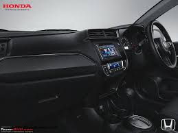 honda indonesia indonesia updated honda mobilio launched gets all new interior