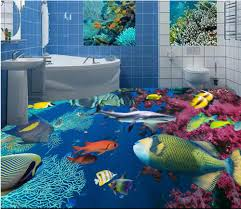 online buy wholesale shark wall murals from china shark wall custom mural 3d flooring picture pvc self adhesive wallpaper bedroom ocean sharks coral decor painting 3d