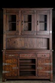 rustic hutch artisan frontier barnwood buffet u0026 hutch for the