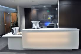 Illuminated Reception Desk Lighted Reception Desk Desk Design Ideas