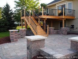 Deck With Patio Designs Backyard Deck Design Backyard Decking Designs Cool Of Backyard