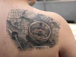 World Map Tattoo by I U0027ve Just Turned 50 Last Year So I Love This Piece The Map And