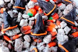 witch hat puppy chow snack mix big s