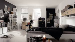 teenage room bedroom simple black white teen boys bedroom design decorating