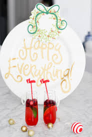 coton colors happy everything plate an easy christmas cocktail coton colors