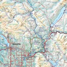 Montana Hunting Maps by Montana Road U0026 Recreation Atlas U2014 Benchmark Maps