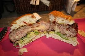 backyard grill stuffed burger press turkey burger stuffed with ham and provolone stufz backyard