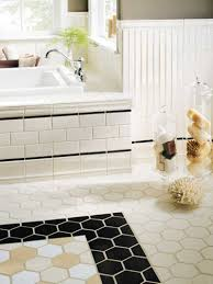 bathroom awesome black white bathroom floor tile ideas matched
