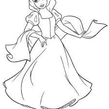 snow white coloring kids color luna