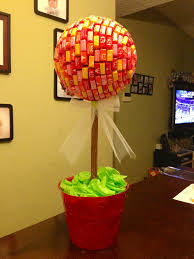 Christmas Topiaries Starburst Topiary Candy Babyshower Decorations Party Ideas