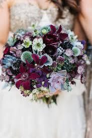 purple bouquets pretty to miss purple wedding bouquets mon cheri bridals