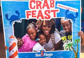 I Lost My Six Flags Season Pass Six Flags America New Splash Water Falls U0026 Crab Feast Fun Moms